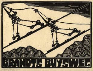 Brandts Buysweg | houtsnede | 26 x 19 cm | 2010 | ■■