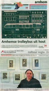 Interview kunstmanifestatie 'GLUREN BIJ DE BUREN' te Velp | De Gelderlander, 25 nov. 2011