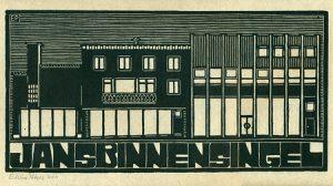 Jansbinnensingel | houtsnede | 35 x 17,5 cm | 2011 | ■■