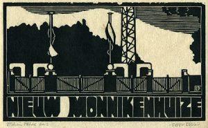 Nieuw Monnikenhuize | houtsnede | 25 x 14,5 cm | 2013 | ■■