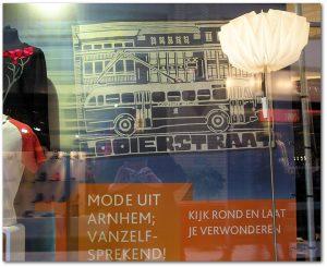 Winkelbanner voor ARNHEM STORE 2014 | Mode- & designartikelen uit Arnhem