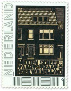 POSTZEGEL OP MAAT: Midden Scheepvaartstraat, Hoek van Holland | 2010