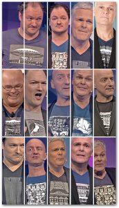 OKIMONO-shirts broadcasted: De Kwis / Pauls Puber Kookshow (Vara) / V.I. Sport | 2014 - 2017