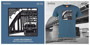 John Frostbrug: OKIMONO-shirt