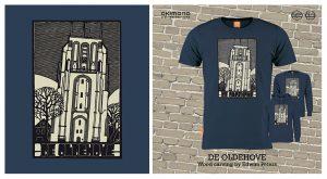 De Oldehove (Leeuwarden): OKIMONO-shirt