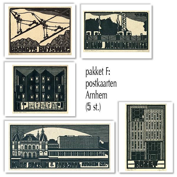 postkaarten pakket F - Arnhem