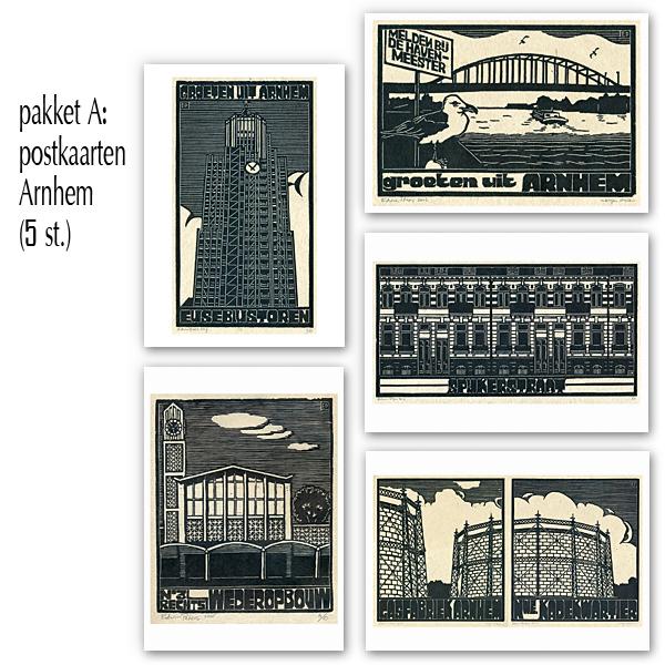 postkaarten pakket A - Arnhem